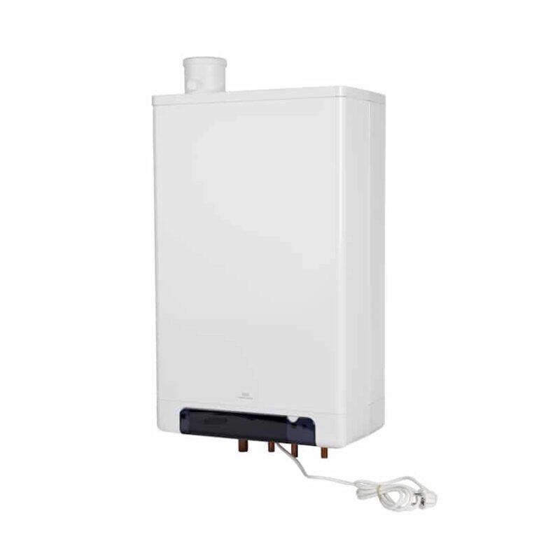 Indirect gestookte luchtverwarmer toestellen